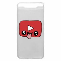 Чохол для Samsung A80 Cheerful YouTube