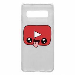 Чохол для Samsung S10 Cheerful YouTube