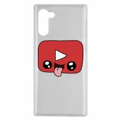 Чохол для Samsung Note 10 Cheerful YouTube