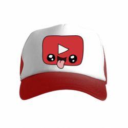 Дитяча кепка-тракер Cheerful YouTube