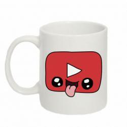 Кружка 320ml Cheerful YouTube