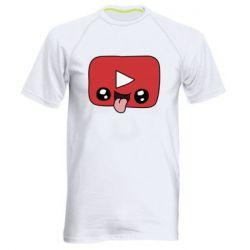 Чоловіча спортивна футболка Cheerful YouTube