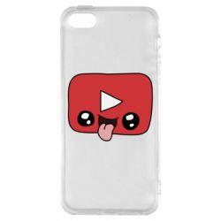 Чохол для iphone 5/5S/SE Cheerful YouTube