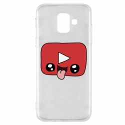 Чохол для Samsung A6 2018 Cheerful YouTube