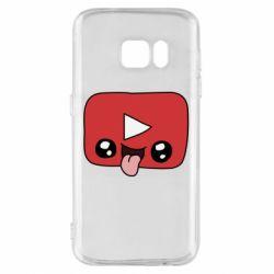 Чохол для Samsung S7 Cheerful YouTube