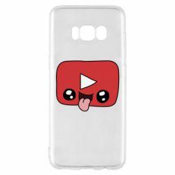 Чохол для Samsung S8 Cheerful YouTube