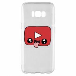 Чохол для Samsung S8+ Cheerful YouTube
