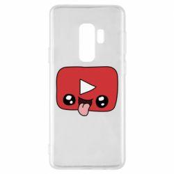 Чохол для Samsung S9+ Cheerful YouTube