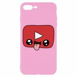 Чохол для iPhone 8 Plus Cheerful YouTube