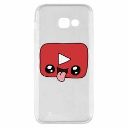 Чохол для Samsung A5 2017 Cheerful YouTube