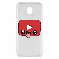 Чохол для Samsung J5 2017 Cheerful YouTube