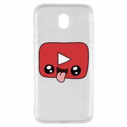 Чохол для Samsung J7 2017 Cheerful YouTube