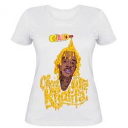 Женская футболка Cheez Wiz Khalifa
