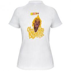 Женская футболка поло Cheez Wiz Khalifa