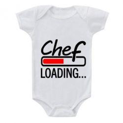 Детский бодик Chef loading