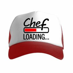 Кепка-тракер Chef loading