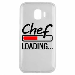 Чехол для Samsung J2 2018 Chef loading