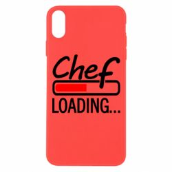 Чехол для iPhone Xs Max Chef loading