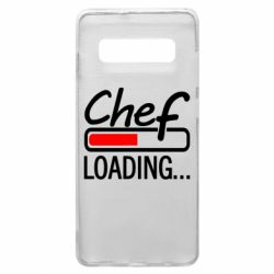 Чехол для Samsung S10+ Chef loading