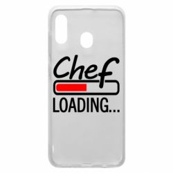Чехол для Samsung A30 Chef loading