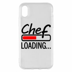 Чехол для iPhone X/Xs Chef loading