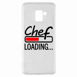 Чехол для Samsung A8+ 2018 Chef loading