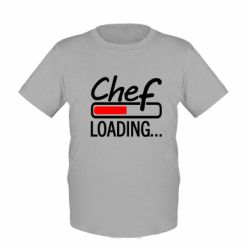 Детская футболка Chef loading