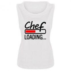 Женская майка Chef loading