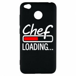 Чехол для Xiaomi Redmi 4x Chef loading