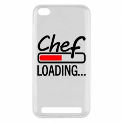 Чехол для Xiaomi Redmi 5a Chef loading