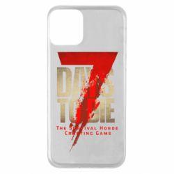 Чохол для iPhone 11 7 Days To Die