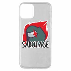 Чохол для iPhone 11 Among Us Sabotage