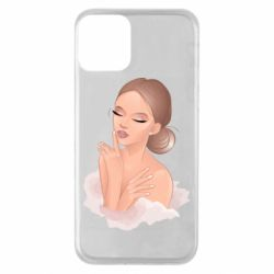 Чехол для iPhone 11 Beautiful art girl