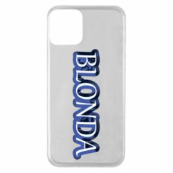 Чехол для iPhone 11 BLONDA