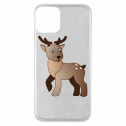 Чехол для iPhone 11 Cartoon deer