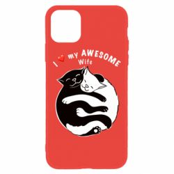Чехол для iPhone 11 Cats with a smile