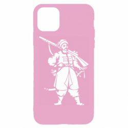 Чехол для iPhone 11 Cossack with a gun