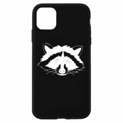 Чохол для iPhone 11 Cute raccoon face