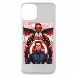 Чохол для iPhone 11 Falcon and the Winter Soldier Art