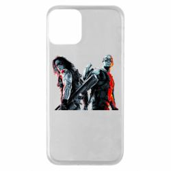 Чохол для iPhone 11 Falcon and Winter Soldier