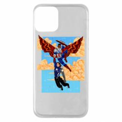 Чохол для iPhone 11 Falcon holds Bucky