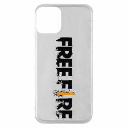 Чехол для iPhone 11 Free Fire spray