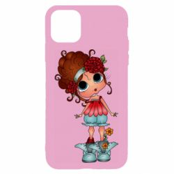 Чехол для iPhone 11 Girl with big eyes