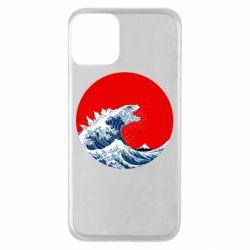 Чохол для iPhone 11 Godzilla Wave