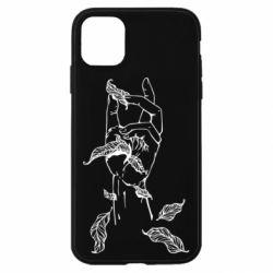 Чохол для iPhone 11 Hand with leafs