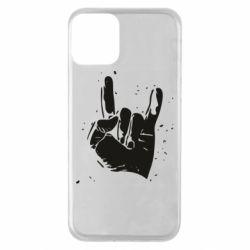 Чехол для iPhone 11 HEAVY METAL ROCK