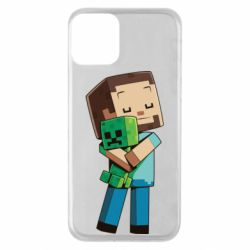Чехол для iPhone 11 Heroes from Minecraft