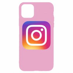 Чохол для iPhone 11 Instagram Logo Gradient