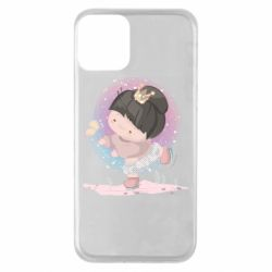 Чехол для iPhone 11 Little princess and butterfly