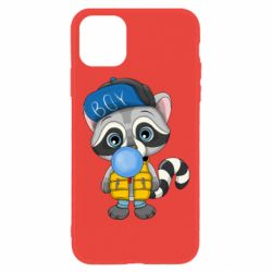 Чехол для iPhone 11 Little raccoon